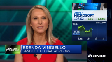 Brenda Vingiello's Guest Appearance on CNBC's Halftime Report on August 23, 2018