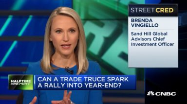 CIO Brenda Vingiello Discussing A Possible Trade Truce During Her November 30, 2018 Appearance on CNBC's Halftime Report