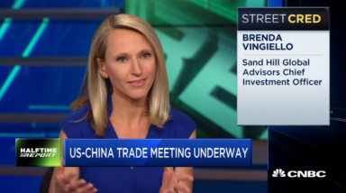 Global Trade Discussion on CNBC's Halftime Report | February 21, 2019