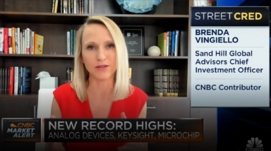"""Is the recovery already baked in?"" Brenda Vingiello, CFA, addresses this question on the CNBC Halftime Report 