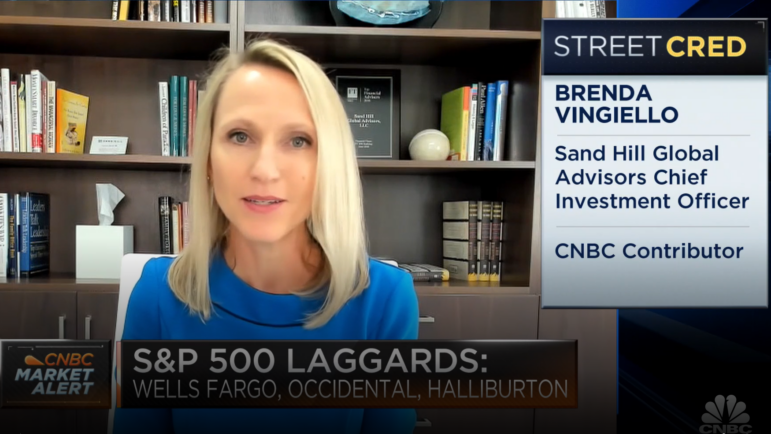 Brenda Vingiello on CNBC's Halftime Report Discusses How She's Adjusting Portfolios in 2021 | January 15, 2021